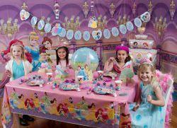 День рождения в стиле принцессы