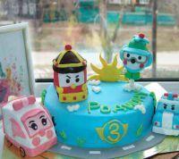 День рождения в стиле Робокар Поли9
