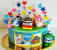 День рождения в стиле Робокар Поли2