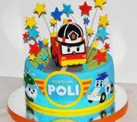 День рождения в стиле Робокар Поли8