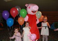 День рождения в стиле свинка Пеппа4