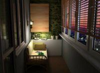 диванчик в интерьере лоджии 8