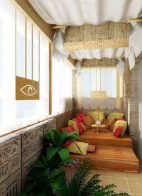 Дизайн балкона в квартире9