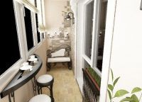 Дизайн балкона19