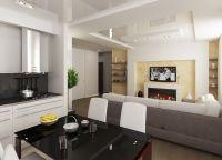 Дизайн гостиной комнаты11