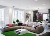 Дизайн гостиной комнаты4