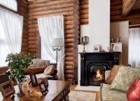 Дизайн гостиной в частном доме9