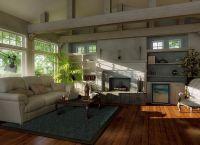 Дизайн гостиной в частном доме4