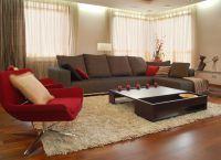 Дизайн гостиной в частном доме5