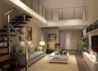 Дизайн гостиной в доме10