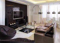 Дизайн гостиной в доме5