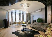 Дизайн гостиной в доме6