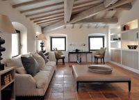 Дизайн гостиной в доме7