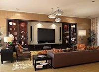 Дизайн гостиной в современном стиле1