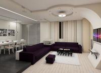 Дизайн гостиной в современном стиле22