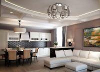 Дизайн гостиной в современном стиле23