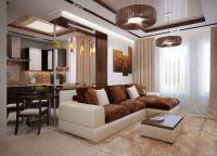 Дизайн гостиной в современном стиле24