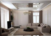 Дизайн гостиной в современном стиле2