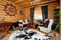 дизайн интерьера деревянного дома4