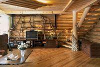 дизайн интерьера деревянного дома6