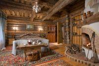 дизайн интерьера деревянного дома8
