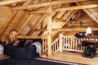 дизайн интерьера деревянного дома9