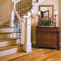 классический интерьер коттеджей с лестницами