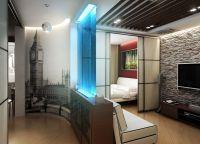 Дизайн комнаты в однокомнатной квартире4