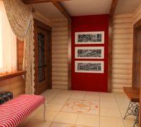 Дизайн коридора в частном доме9