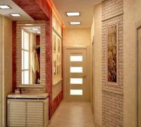 Дизайн коридора в частном доме1
