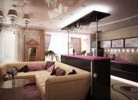 Дизайн кухни гостиной в частном доме4