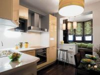 Дизайн кухни с балконом5