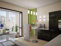Дизайн кухни с балконом6