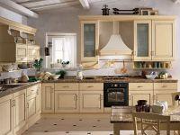 Дизайн кухни в частном деревянном доме 1