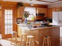 Дизайн кухни в частном деревянном доме 3