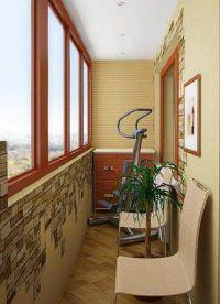 Дизайн маленького балкона9