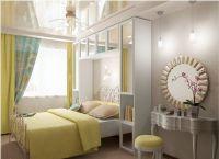 Дизайн небольшой спальни2