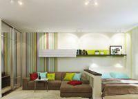 Дизайн небольшой спальни4