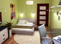 Дизайн небольшой спальни7