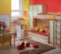 2. Дизайн однокомнатной квартиры с детской
