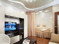 Дизайн однокомнатной квартиры с нишей2