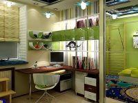 Дизайн однокомнатной квартиры с нишей3