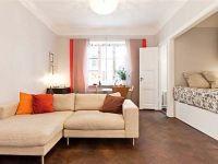 Дизайн однокомнатной квартиры с нишей5