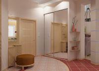 Дизайн прихожей в квартире7
