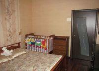 Дизайн спальни с детской кроваткой5