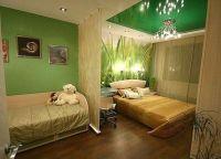 Дизайн спальни с детской кроваткой7
