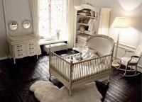 Дизайн спальни с детской кроваткой15
