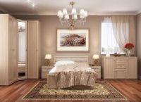 Дизайн спальни в светлых тонах2