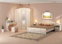 Дизайн спальни в светлых тонах3