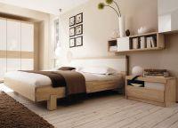 Дизайн спальни в светлых тонах6
